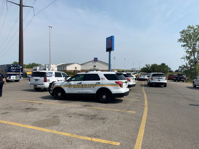 The Iowa Division of Criminal Investigation is investigating after Altoona police shot a man outside a Motel 6 in Altoona on Monday, Sept. 7, 2020.