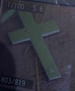 Mississippi Bureau of Investigation is hoping someone recognizes this cross, which was on a silver chain worn by a man in his 50s or 60s who was found dead on Mississippi 18 east of Pachuta.