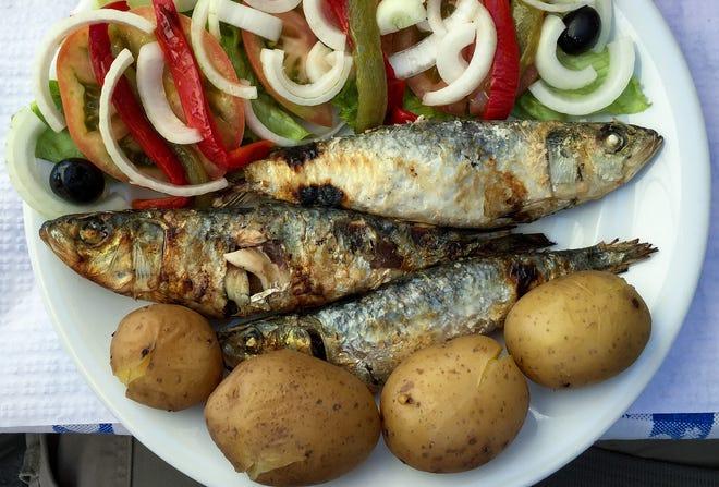Portuguese sardines.