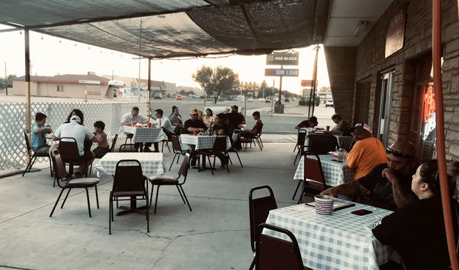 Most restaurants in Deming chose to keep patio dining options open in case of a second shut-down in response to COVID-19.