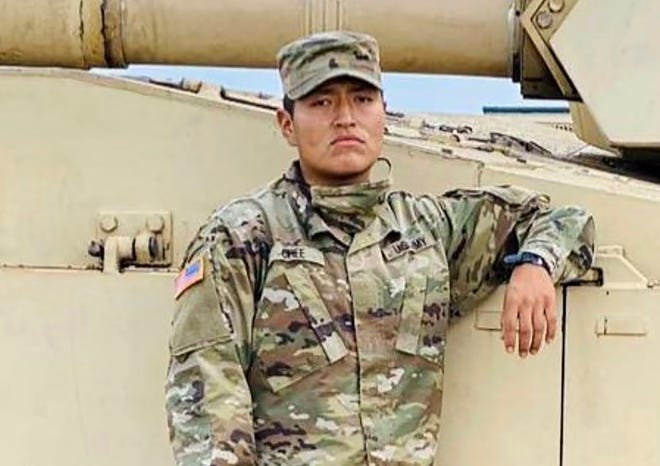 This undated photo provided by the U.S. Army shows Pvt. Corlton L. Chee. The Navajo Nation has joined calls for an accounting of the deaths at Fort Hood after one of its members became the latest soldier from the U.S. Army post to die this year.