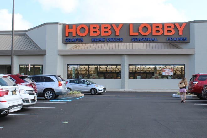 The parking lot was full at the Hobby Lobby in Dover Sept. 8. The store is at 1001 N. Dupont Highway near Dover Downs Hotel and Casino.