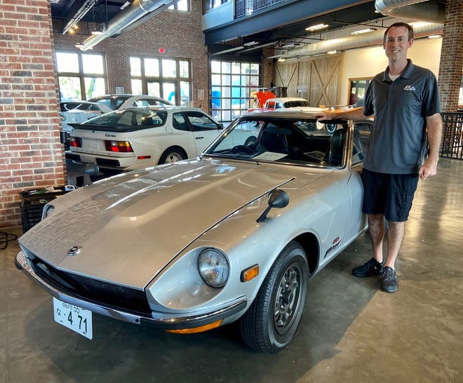 Art 'n Motion President Justin Felker has a rare 1970 Z Fairlady 432 coupe in his St. Augustine showroom. It'll be the centerpiece of a 50th anniversary celebration of the Japanese sports car at the Ponte Vedra Auto Show in Nocatee on Nov. 15.