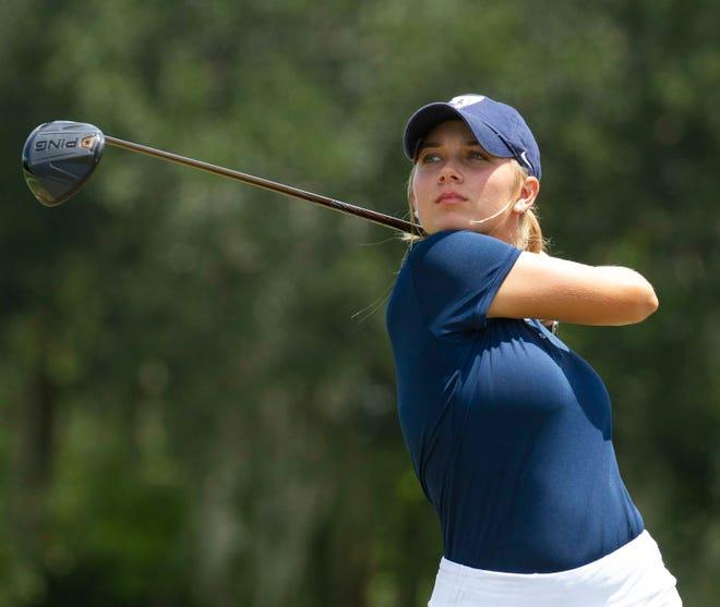 Arlynn Spence is a member of a loaded Lakeland High School girls golf team.