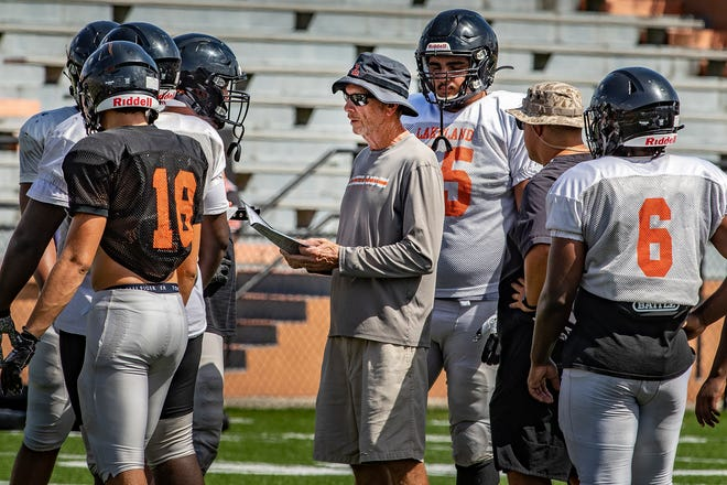 The start of Lakeland coach Bill Castle's 45th year as head coach will be delayed by at least two weeks as the Dreadnaughts were forced to suspend operations for two weeks because of COVID-19.