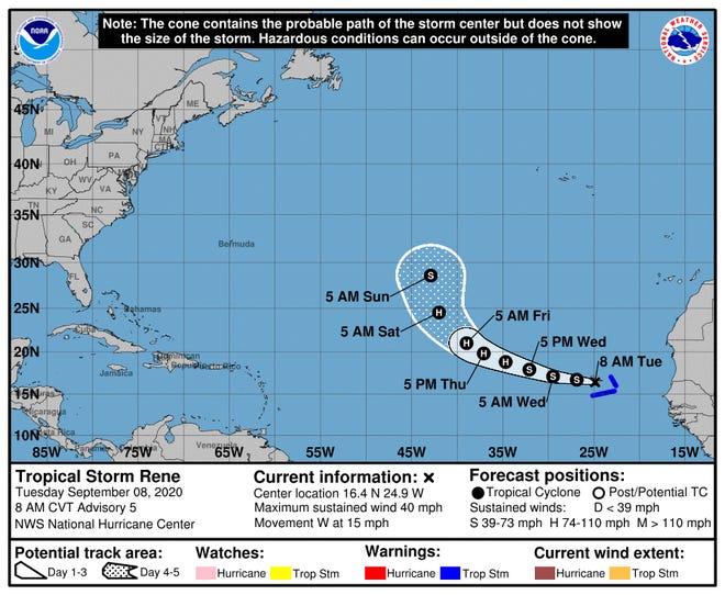 Tropical Storm Rene
