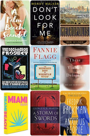 Fall/winter book releases