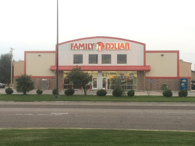 Two suspects robbed the Family Dollar store, 303 E. Kansas Avenue in Greensburg on Monday afternoon.