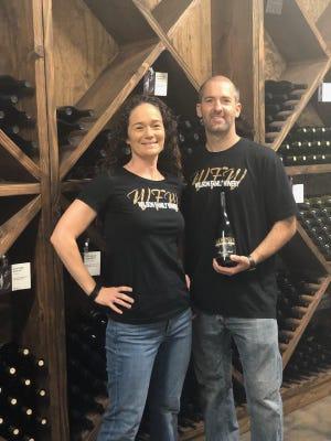 Krystal and JR Wilson opened Wilson Family Winery last year in Lodi.