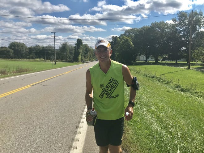 John Kennedy, a candidate for Portage County Commissioner, is planning to run 100 miles through Portage County to raise awareness for hunger.