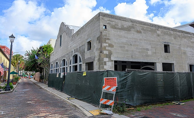 St. Augustine's Planning and Zoning Board recently approved using the 2,500 square feet building under construction at 9 Aviles St. as an event venue that can serve alcohol on site.