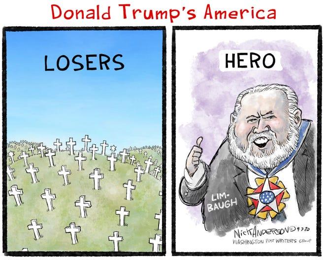"President Trump's definition of ""hero"""
