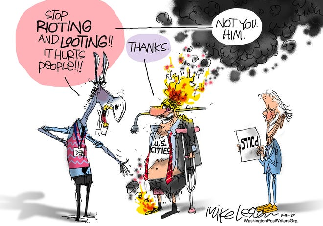 Rioting and looting hurts Dems - in the polls.