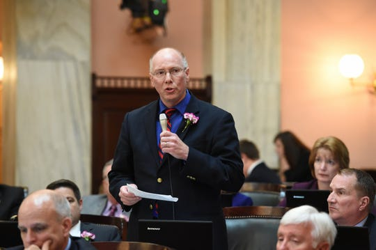 Rep. John Becker has taken several actions against Ohio Gov. Mike DeWine.