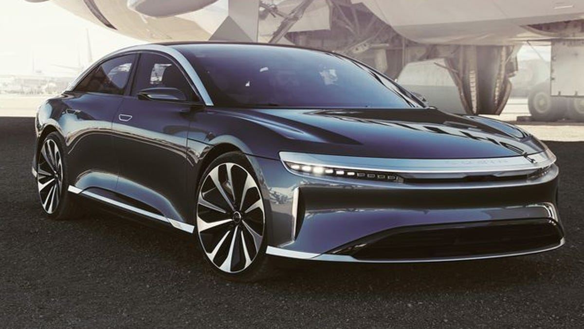 How Lucid Motors plans to spin Tesla-killing strategy out of air
