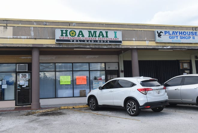 Hoa Mai I Restaurant in Harmon, Sept. 8, 2020. The Vietnamese and Chinese restaurant has been shut down following an inspection by the Department of Public Health and Social Services.