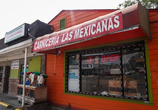Las Mexicanas Supermarket off of South Sherman Drive, Wednesday, August 26, 2020.