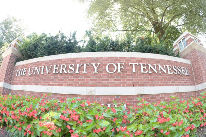 An entrance to the University of Tennessee's Knoxville campus.