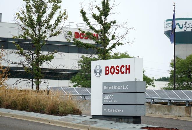 Farmington Hills' Bosch headquarters on Hills Tech Drive.