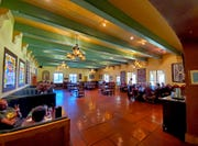 The Turquoise Room, in Winslow's La Posada Hotel, is considered one of the finest in northern Arizona.
