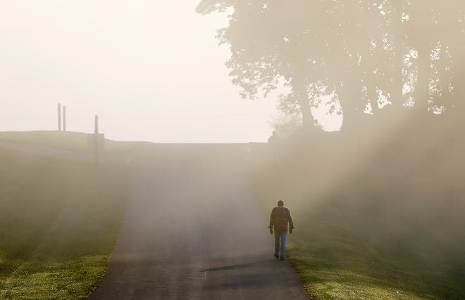 Fog at Samuel S. Lewis State Park in Lower Windsor Township, Tuesday, Sept. 8, 2020. Dawn J. Sagert photo
