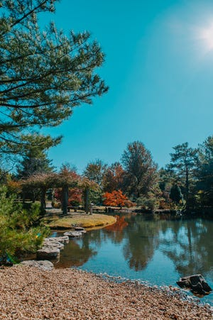 Much work has been done in the last few years at the Mizumoto Japanese Stroll Garden.