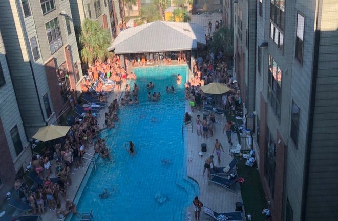 Image from pool party at Catalyst