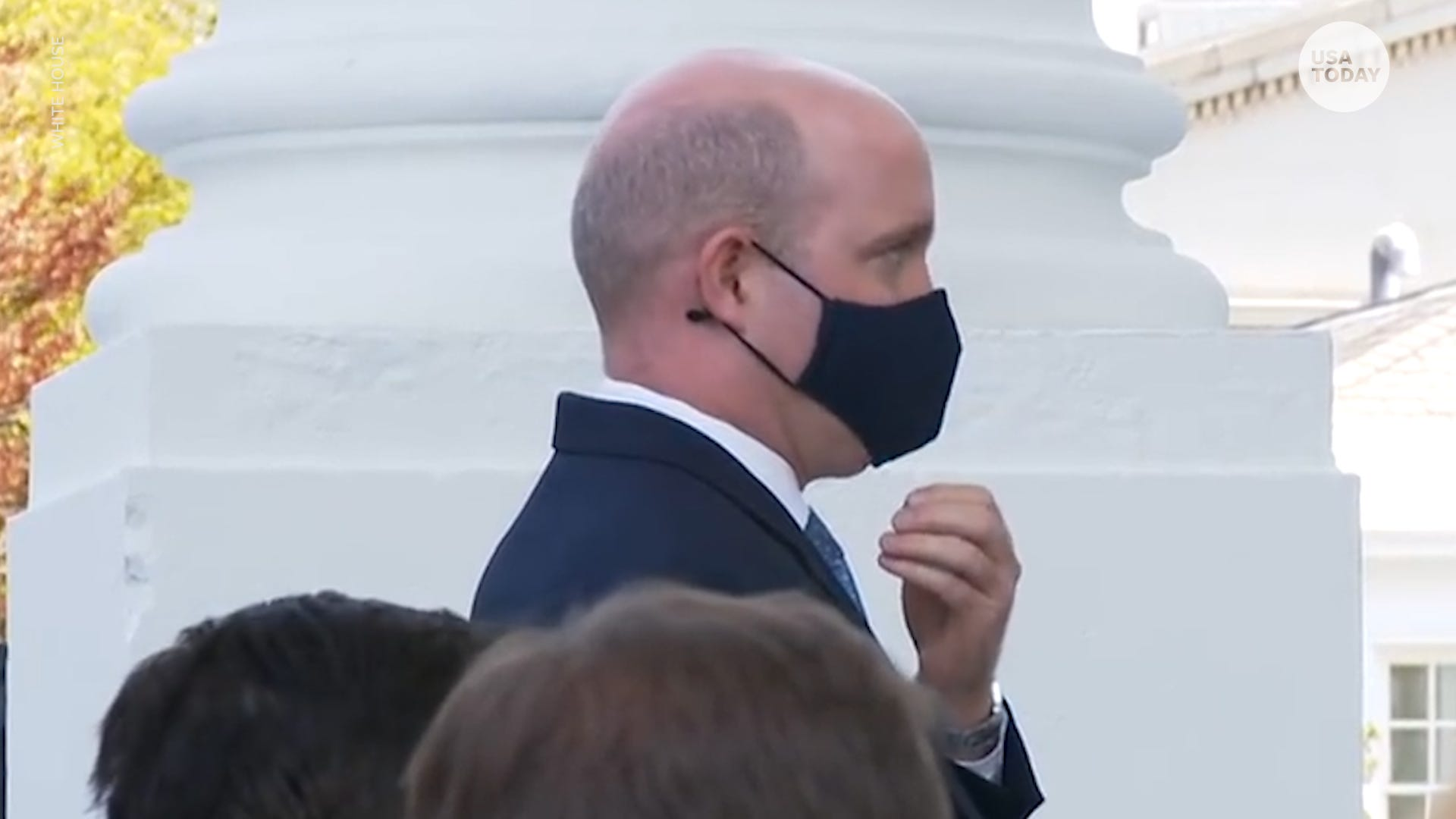Take it off : Trump requested a White House reporter remove his mask while asking a question. He didn t.