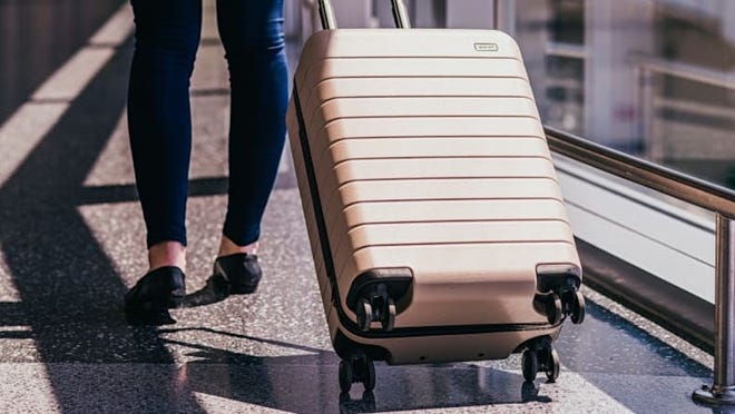 Travel by plane, train, bus or car will be a breeze with Away's best-selling carry on, now 50% off.