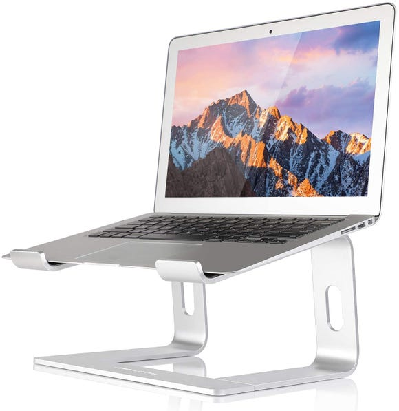 These risers are super useful, especially if your WFH set-up needs some sprucing up.