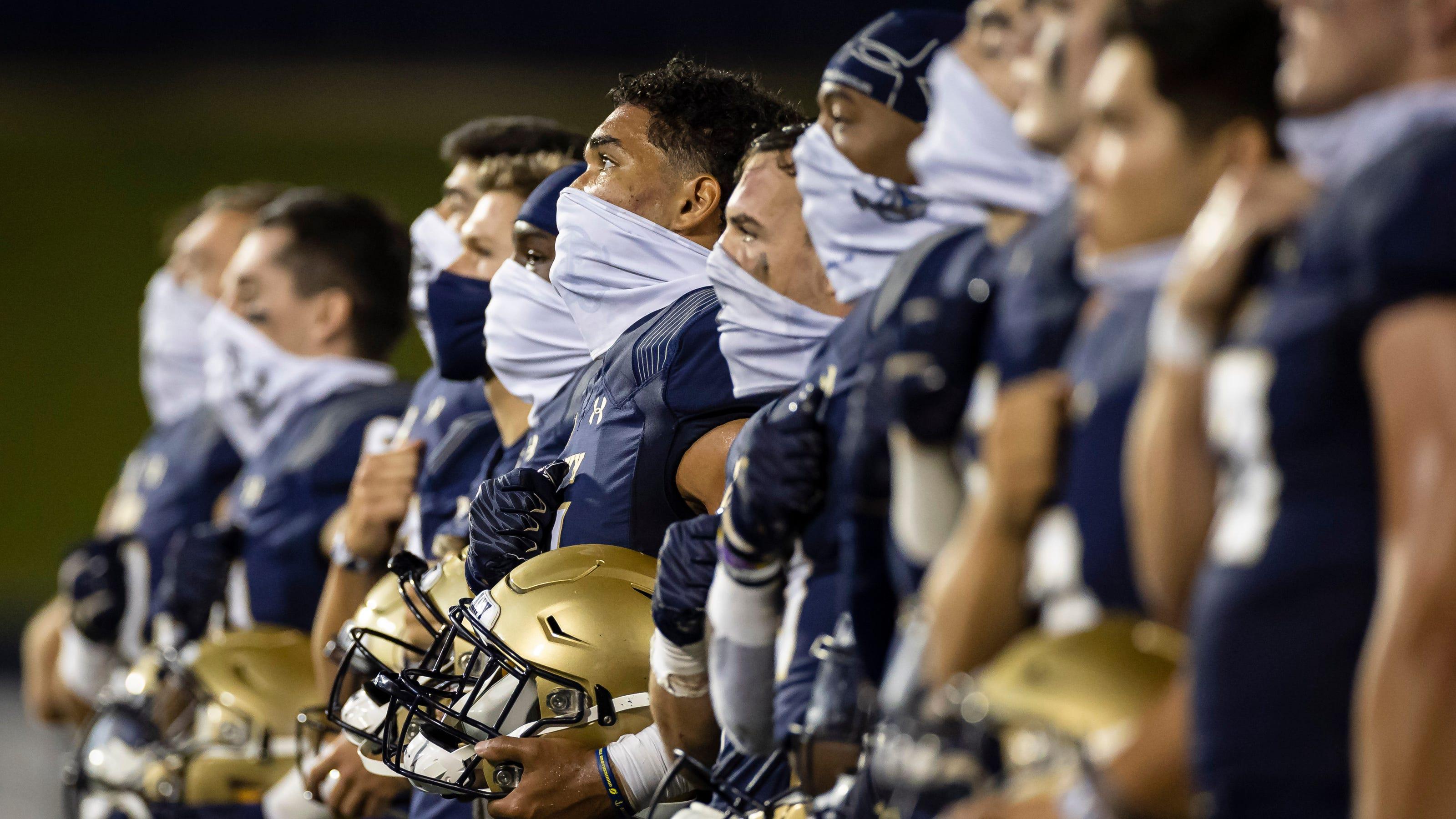 'Felt like a scrimmage': BYU-Navy puts college football's coronavirus era into national spotlight