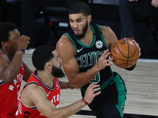 Jayson Tatum had 18 points and 10 rebounds for the Celtics.