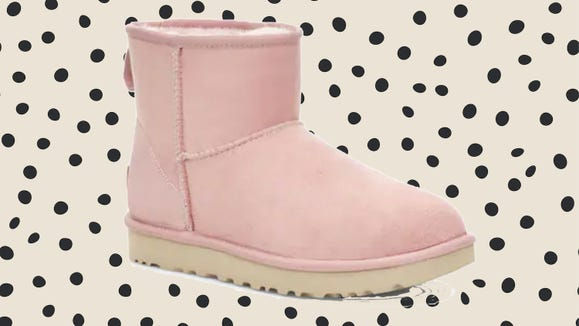These boots are less than $100 right now at the UGG Closet.