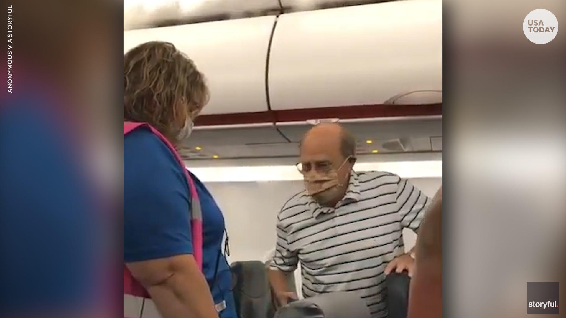 Allegiant passenger kicked off plane after asking flight attendant to put her mask back on
