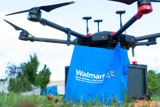 Walmart announced it is starting to test on-demand drone delivery.