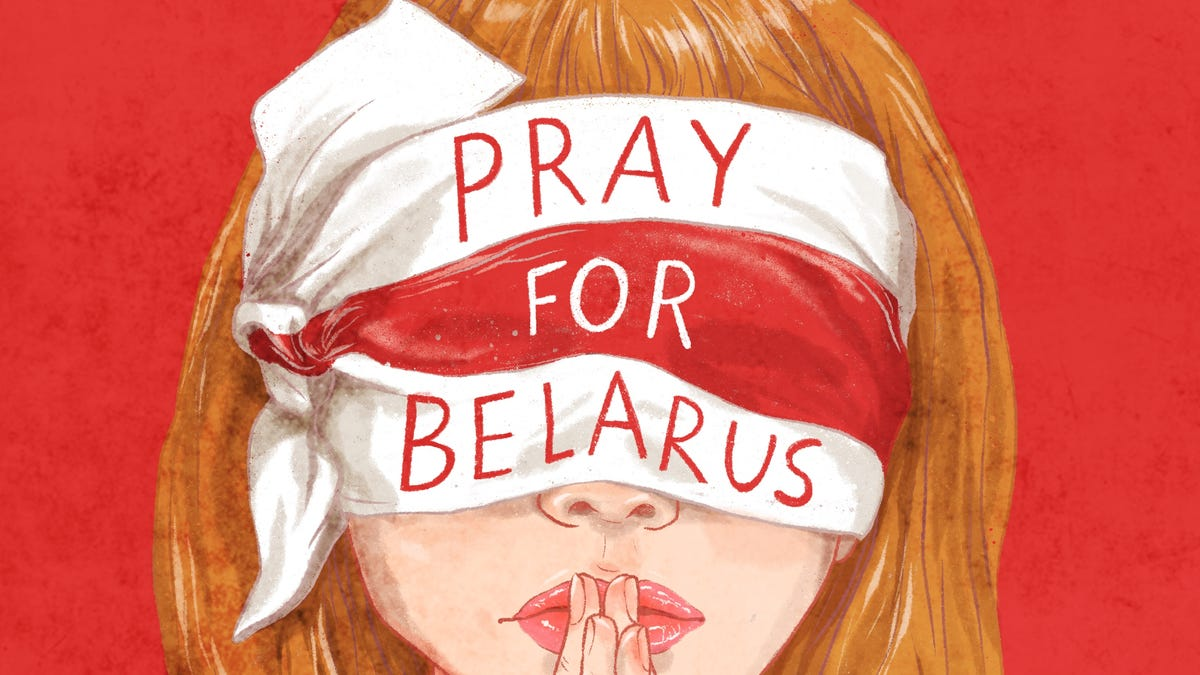 Belarus protests as seen through artists' eyes
