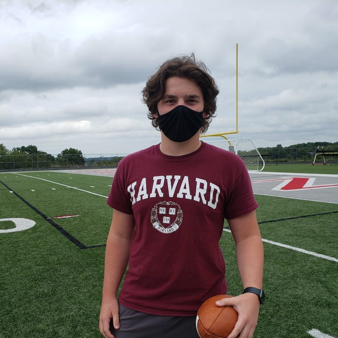 West Allegheny senior Shane Kennedy collapsed and went into cardiac arrest in April. While he's back working out with the team, Kennedy is still waiting for approval to play his senior season.
