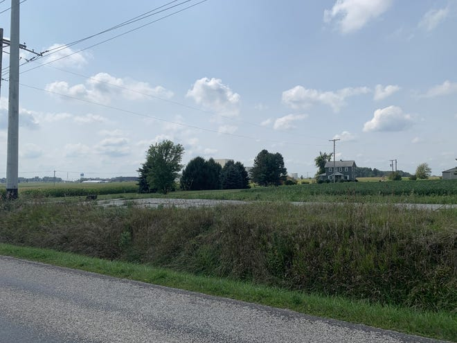 The city of Wooster purchased a little over 5 acres from Roger and Patricia Beery. Their property sat in the middle of the Five L Farm property recently purchased by the city for a new industrial park.