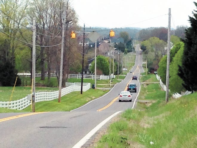 The Duplex Road widening project was recently completed after 14 years of planning, right-of-way acquisition and construction. In total, the project cost about $12 million. (Daily Herald staff file photo)