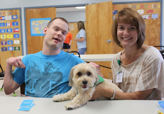 """Newark-based pet therapy organization PAWS for People will host the """"Art from the Heart"""" virtual art auction from Sept. 28 through Oct. 4."""