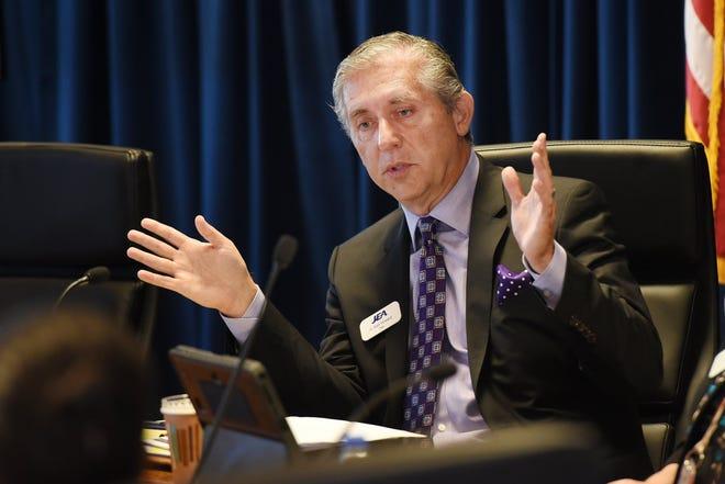 JEA board chairman G. Alan Howard at a Nov. 27, 2018, board meeting.