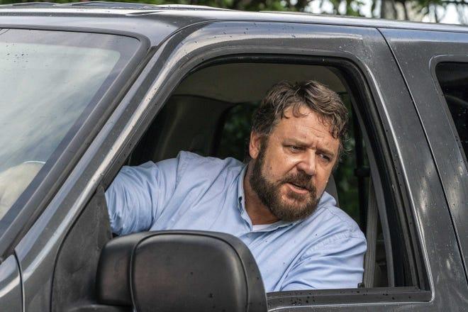 "Russell Crowe takes road rage way too far in ""Unhinged."" [Solstice Studios and Ingenious Media via AP]"