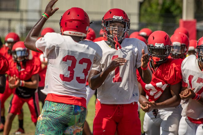 Kathleen's football program has been shut down for two weeks because of positive cases of COVID-19. Its game Friday in Bradenton was canceled.