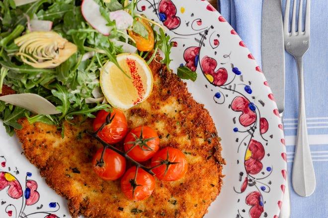 Chicken Milanese at Scusi Trattoria. [Provided by Scusi]