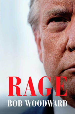 """Rage"" by Bob Woodward. [Simon & Schuster via AP]"