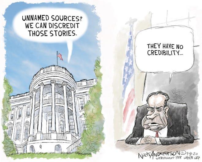 Editorial cartoon: Nick Anderson
