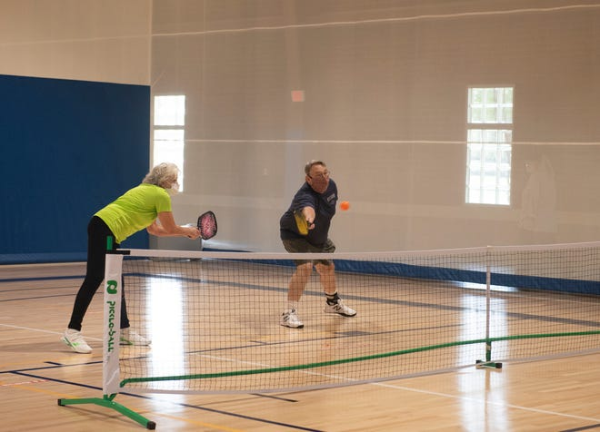 Pickleball is a popular activity at the Tallmadge Recreation Center. The facility, along with other parks and recreation facilities, has experienced a loss in revenue due to the COVID-19 pandemics and has reduced expenses to make up the lower amount of revenue.