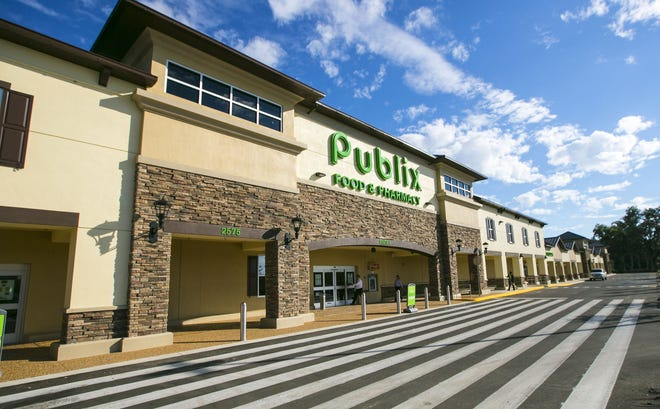 Publix reported COVID-19 cases at three Sarasota-Manatee stores within the past month. Pictured is a Publix store in Ocala.