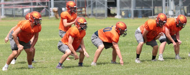 The Lemon Bay High football team is looking to improve upon its 3-8 record from a year ago.