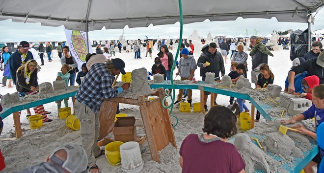 The Siesta Key Crystal Classic International Sand Sculpting Festival celebrated its 10th anniversary in 2019. The event has been called off this year because of coronavirus.